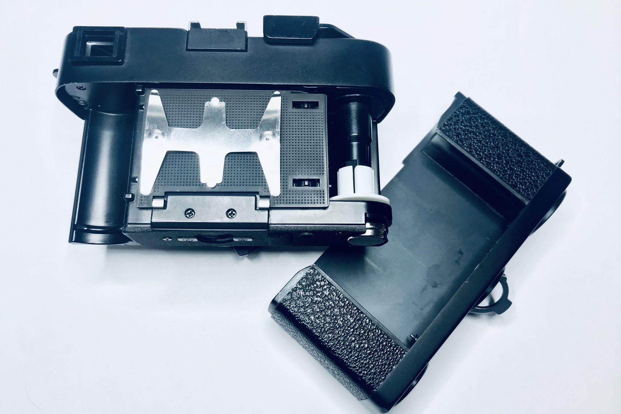 Leica CL Filmfach