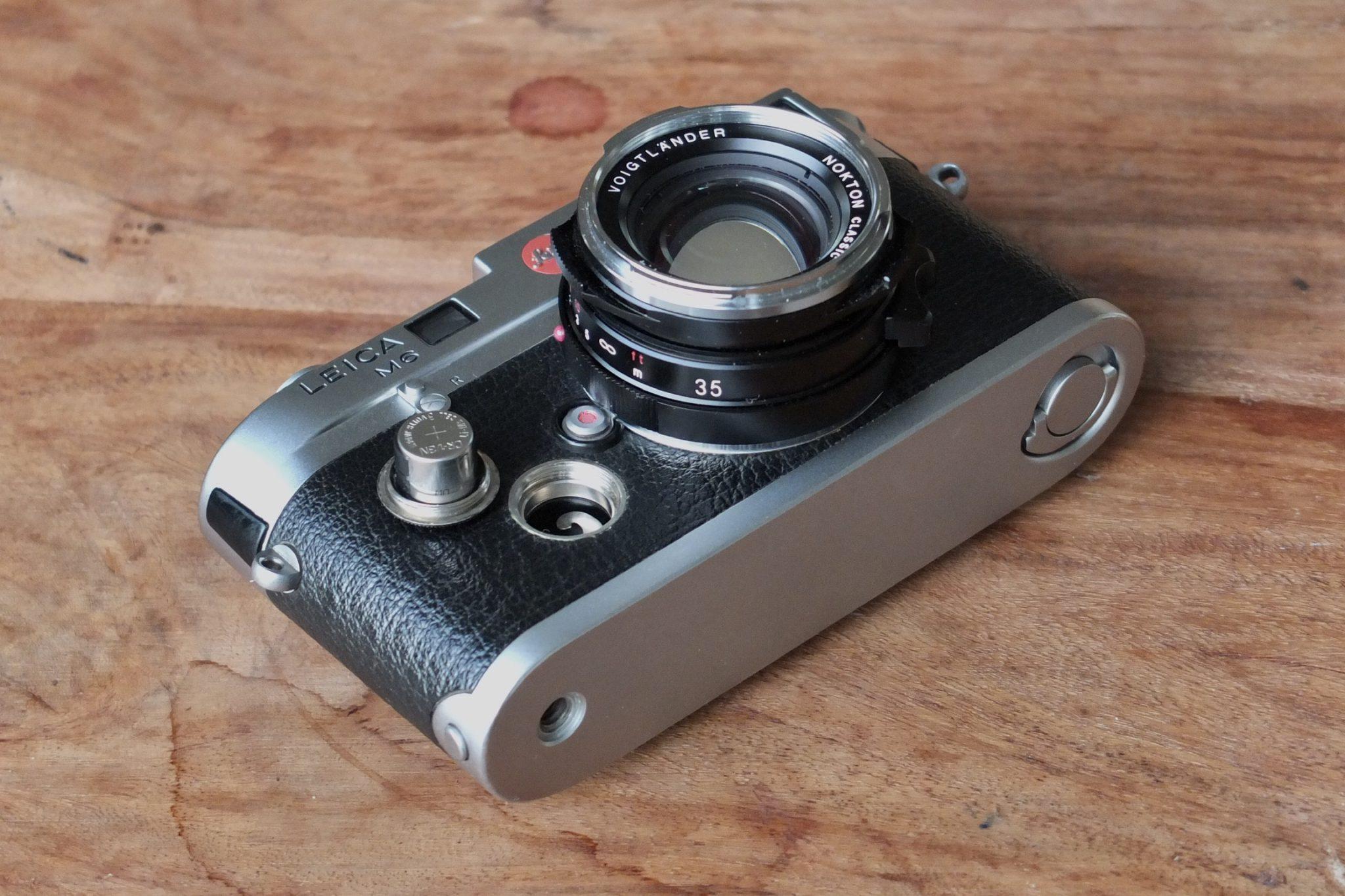 Leica M6 Batterie