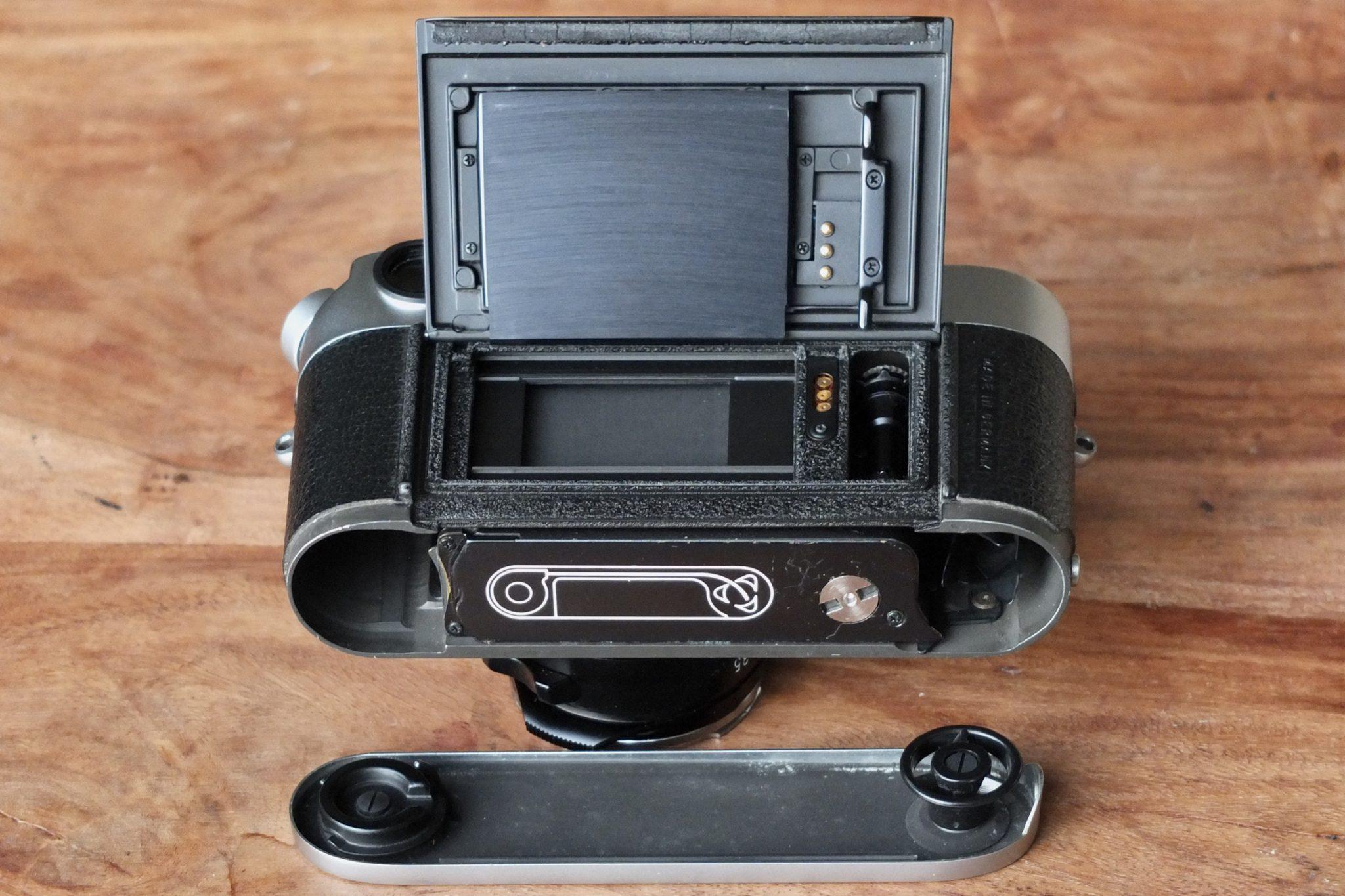 Leica M6 Kofferraum