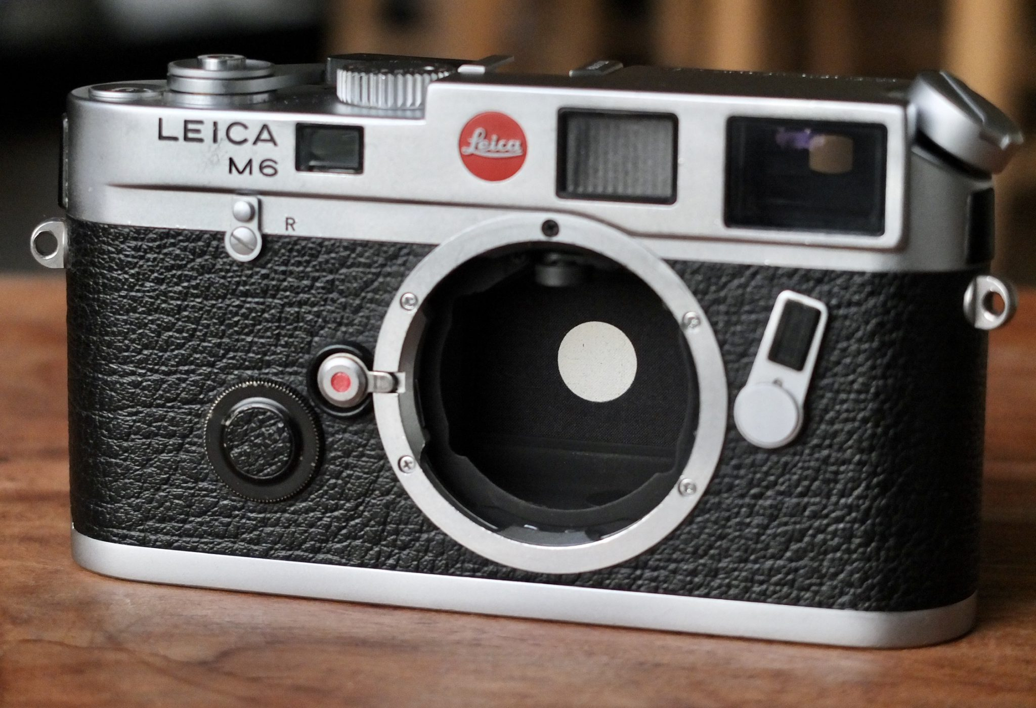Leica M6 Reflektionsfläche