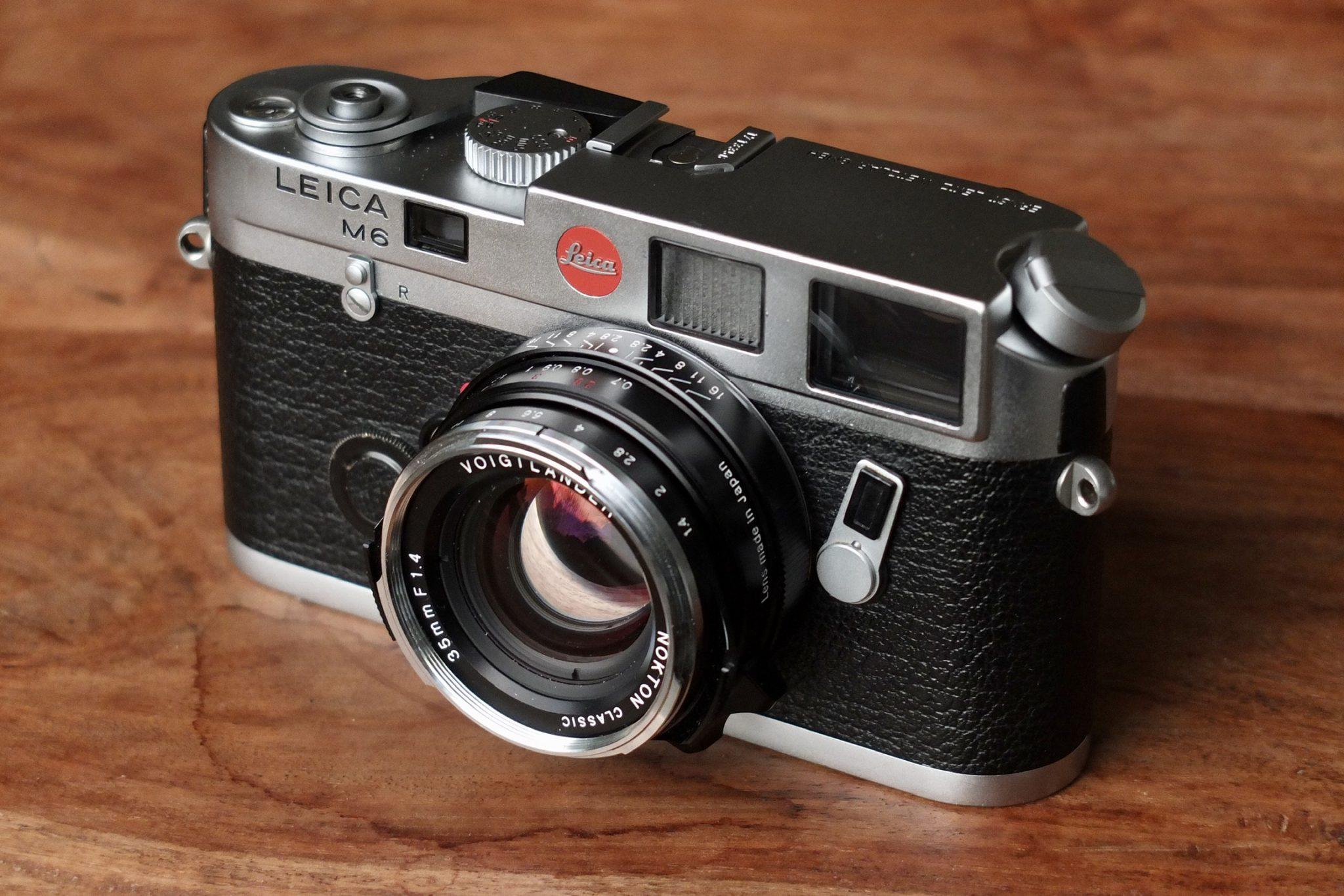 Leica M6 Voigtländer Nokton 35 1.4
