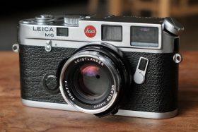 Leica M6 Closeup