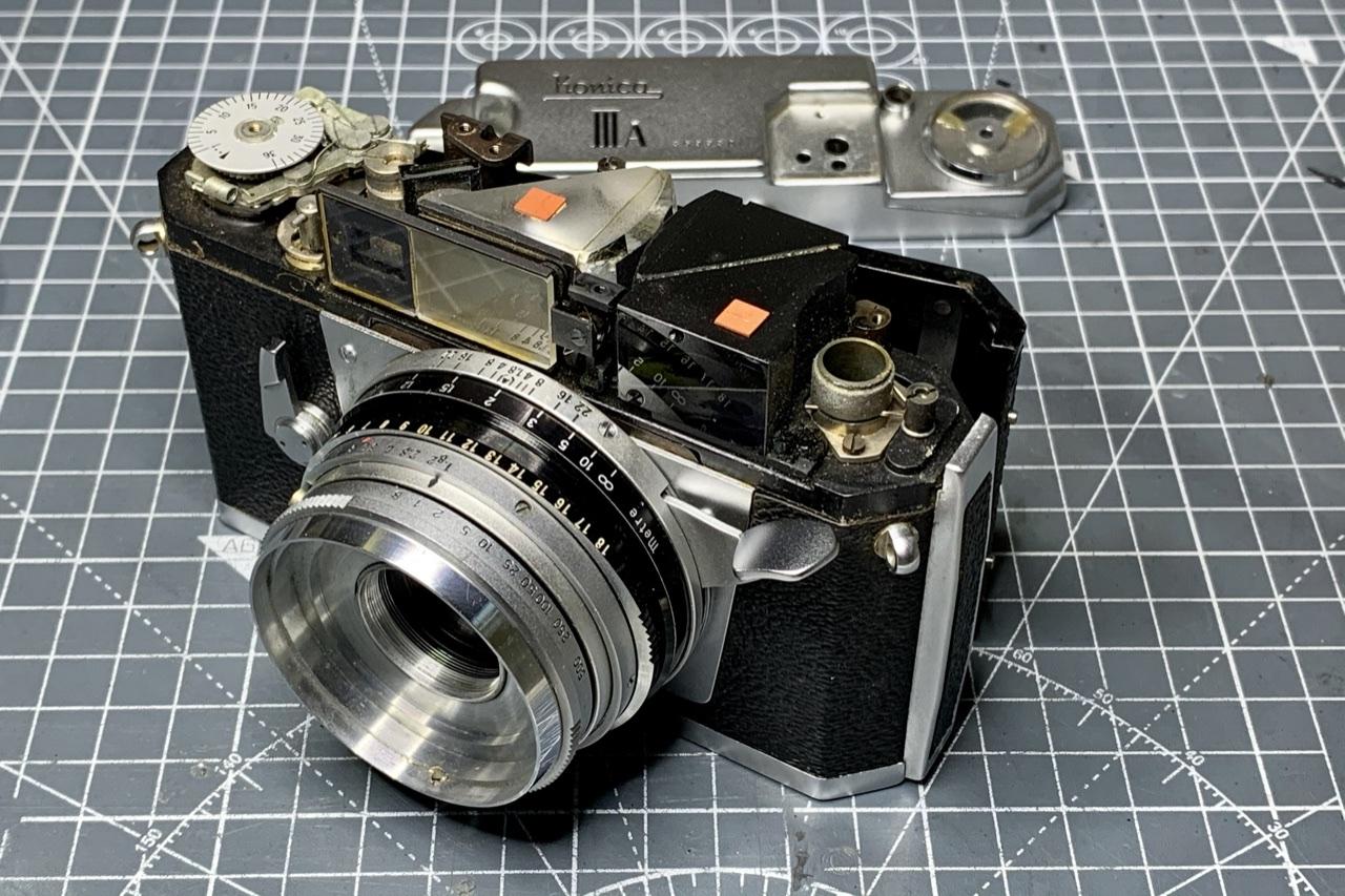 Konica IIIa Rangefinder