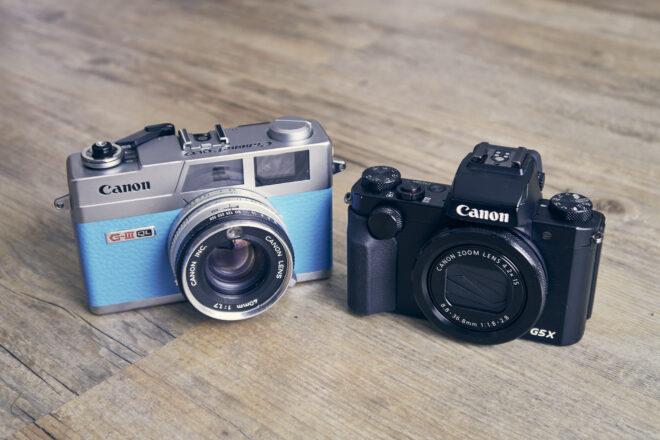 Canon GIII vs. G5x